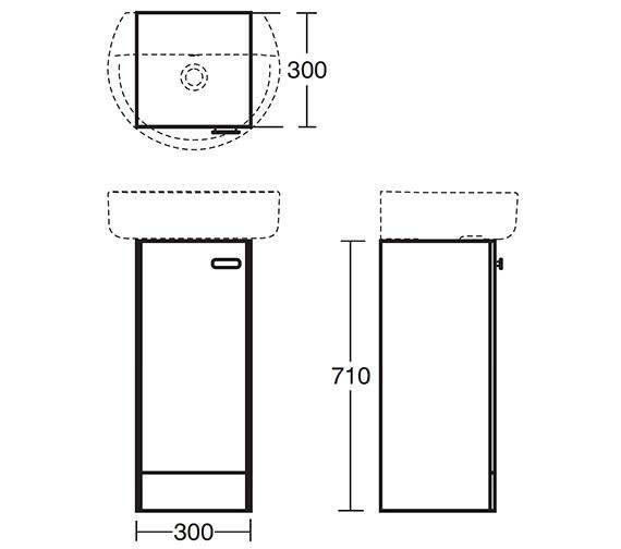 Technical drawing QS-V40376 / E6443SX