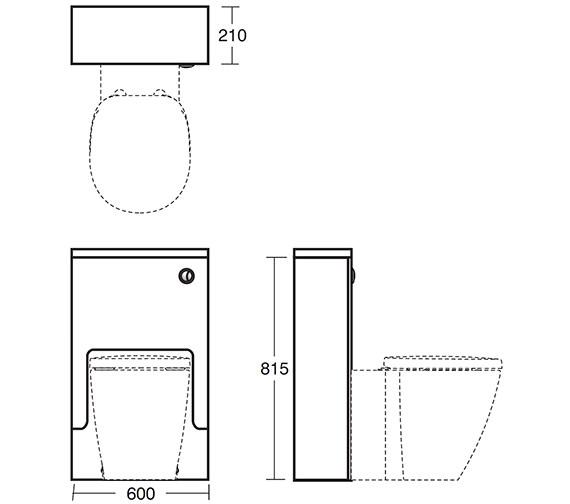 Technical drawing QS-V40384 / E6461SO