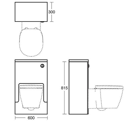 Technical drawing QS-V40392 / E6455SO