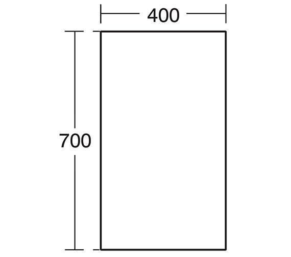 Technical drawing QS-V40396 / E6590BH