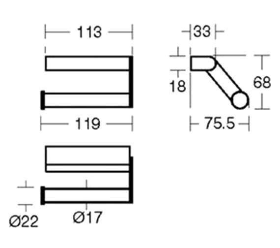Technical drawing QS-V40398 / N1314AA