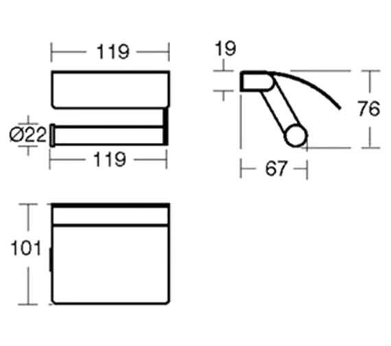 Technical drawing QS-V40399 / N1315AA