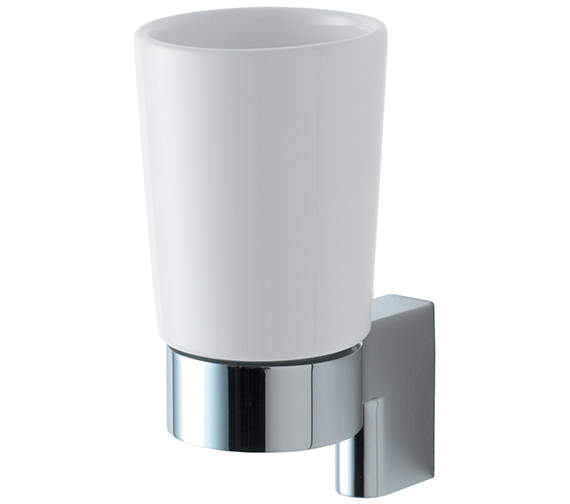 Ideal Standard Concept Ceramic Tumbler With Bracket And Holder