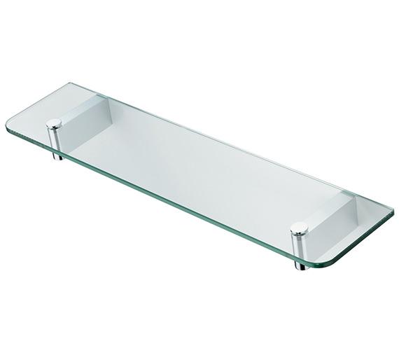 Ideal Standard Concept 500mm Glass Shelf With Brackets - N1324AA