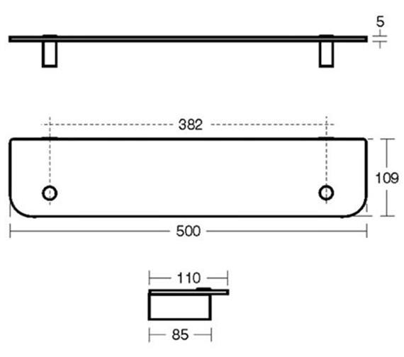 Technical drawing QS-V40407 / N1324AA