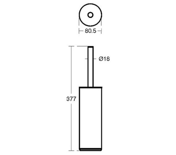 Technical drawing QS-V40408 / N1327AA