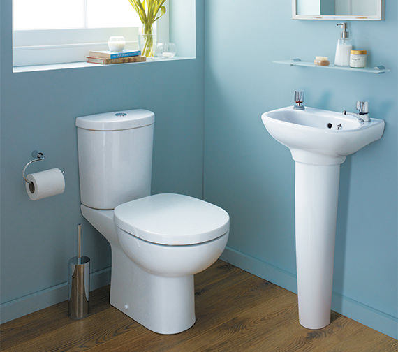 ideal standard studio 450mm handrinse pedestal basin e413101. Black Bedroom Furniture Sets. Home Design Ideas