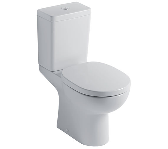 Ideal Standard Studio Close Coupled WC With Cube Cistern 665mm