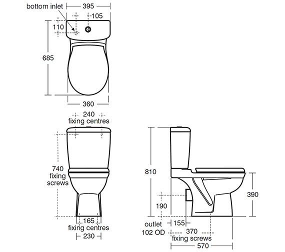 Technical drawing QS-V40434 / E754301
