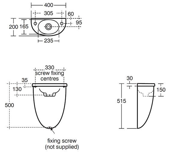 Technical drawing QS-V40443 / E617501