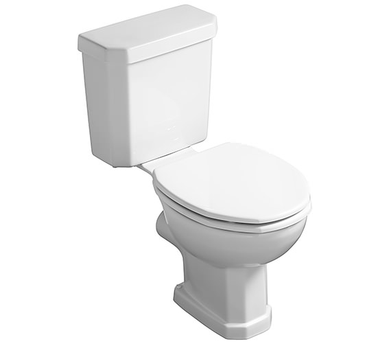 Ideal Standard Plaza Close Coupled WC With Cistern 670mm