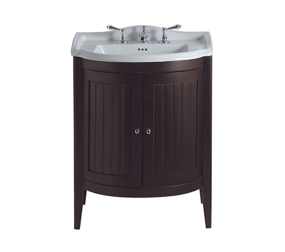 Imperial Linea Drift Vanity Unit With 2 Wooden Doors And 660mm Basin