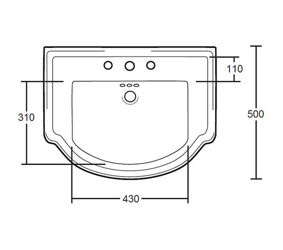 Technical drawing QS-V40501 / XO34000042