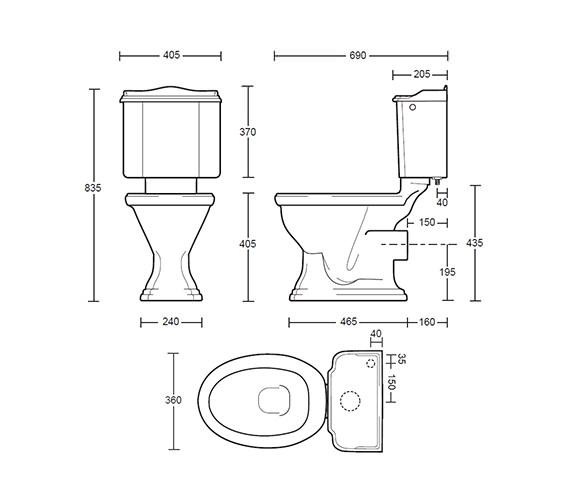 Technical drawing QS-V40503 / DR1WCC1030