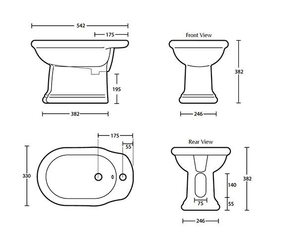 Technical drawing QS-V40507 / BE1BI11030