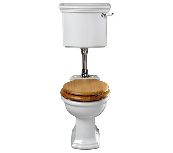 Imperial Bergier WC Pan And Low Level Cistern - BE1WC01030