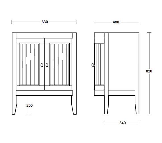 Technical drawing QS-V40514 / XG31100020