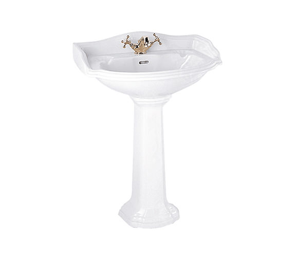 Imperial Oxford 655mm Large Basin White - OX1LB11030