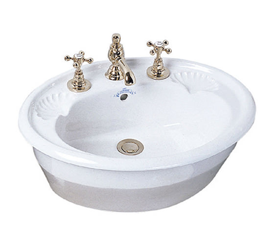 Imperial Oxford 545mm Inset Basin - OX1IB11030