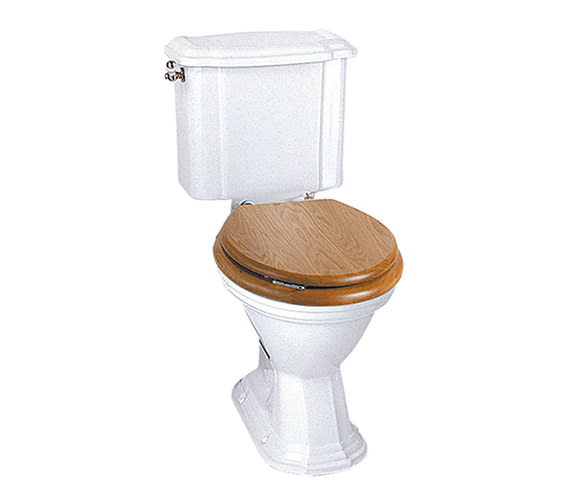 Imperial Oxford Close Coupled WC Pan And Cistern White - OX1WCC1030