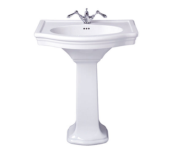Imperial Firenze 705mm Large Basin With Full Pedestal - FI1LB11030