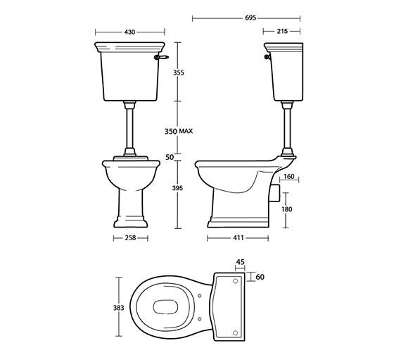 Technical drawing QS-V40541 / FI1WC01030