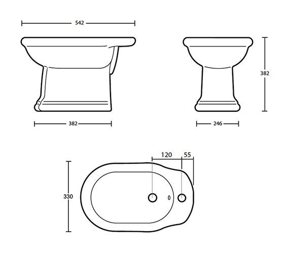 Technical drawing QS-V40543 / FI1BI11030