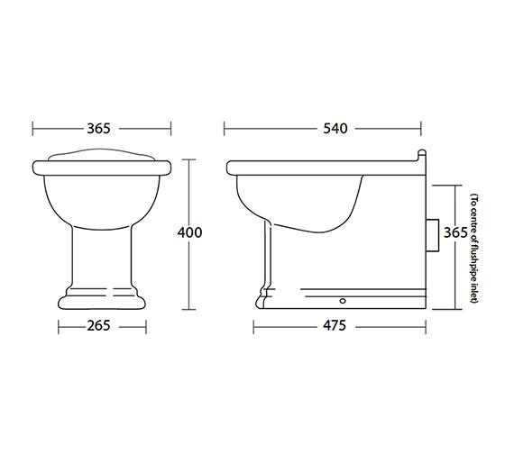 Technical drawing QS-V40546 / FI1BC01030