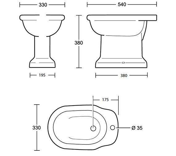 Technical drawing QS-V40550 / ET1BI11030