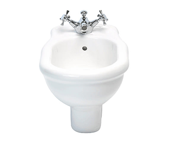 Imperial Etoile 1 Tap Hole Wall Hung Bidet White - ET1BH11000