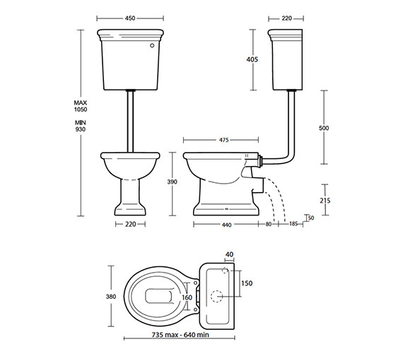 Technical drawing QS-V40553 / ET1WC01030