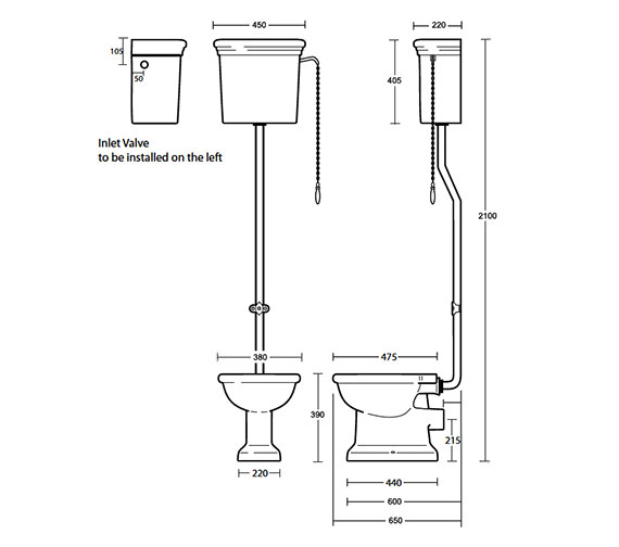 Technical drawing QS-V40554 / ET1WC01030