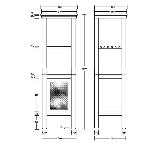 Technical drawing QS-V40642 / XWCM011042