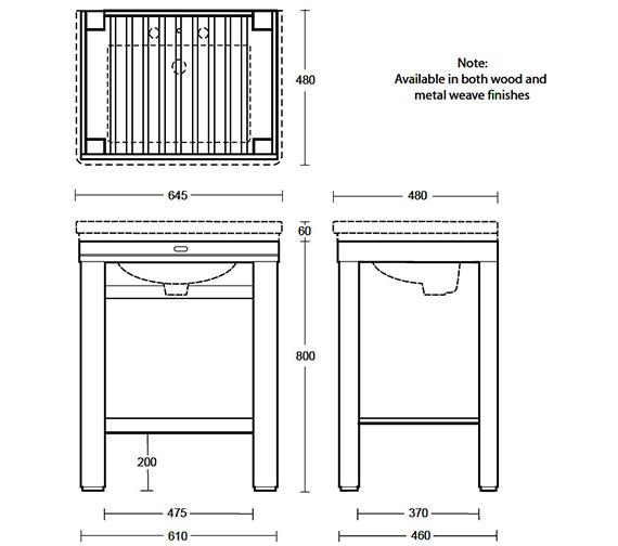 Technical drawing QS-V40644 / XWC0016042