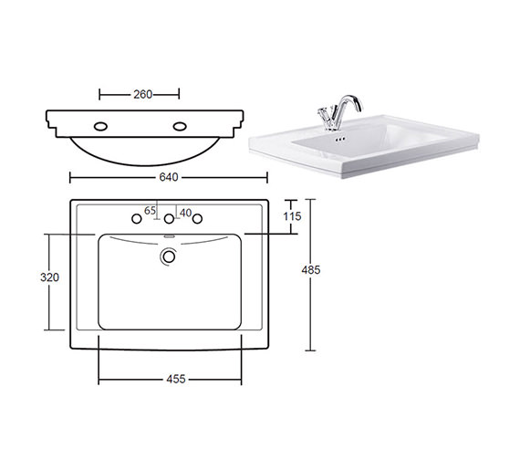 Additional image of Imperial Bathrooms  XWC0016042