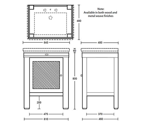 Technical drawing QS-V40645 / XWCM017042