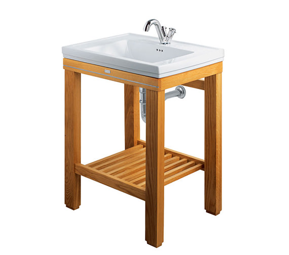 Imperial Cuda Natural Oak Open Wash Station - XWC0016020