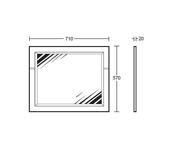 Technical drawing QS-V40654 / XP39010020