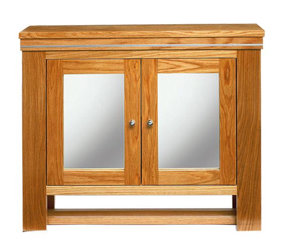 Imperial Cuda Natural Oak Wall Cabinet 700 x 660mm