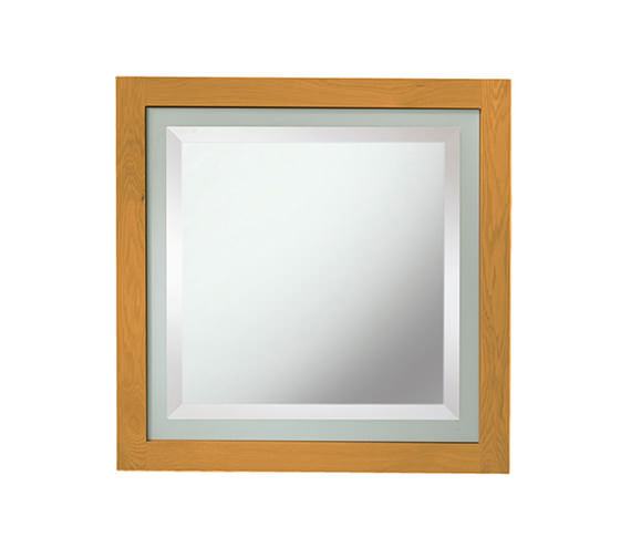 Imperial Linea Mirror With Green Feature Glass Border - XG3900030G