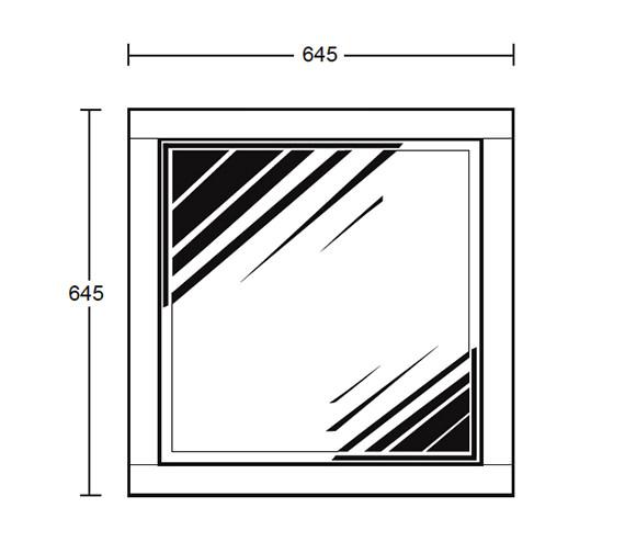 Technical drawing QS-V40673 / XG39000042