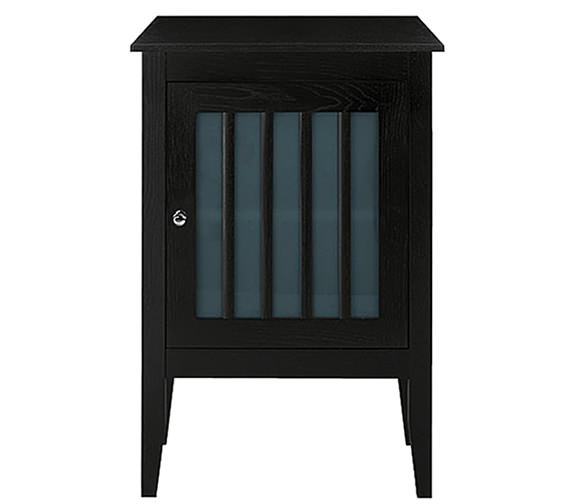 Imperial Linea Side Unit With 1 Wood-Frosted Glass Doors - XG33100042W