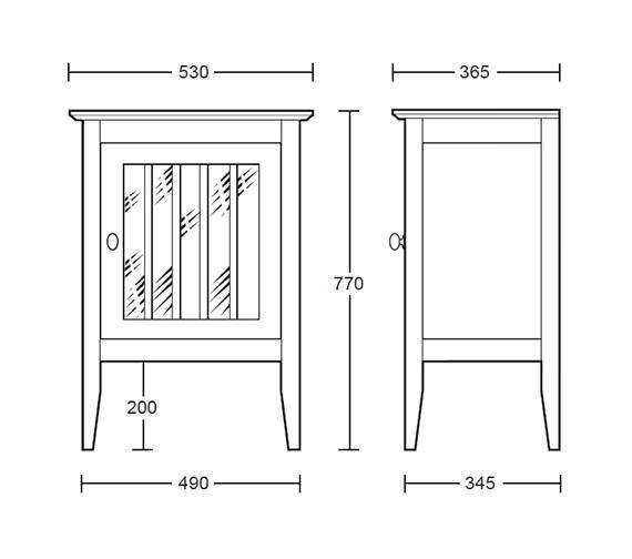 Technical drawing QS-V40675 / XG33100042W