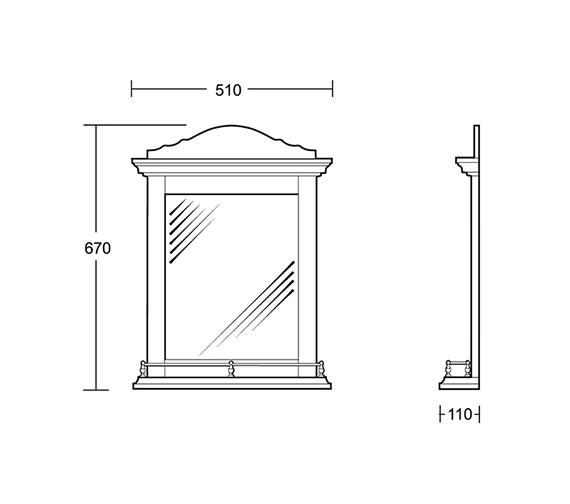 Technical drawing QS-V40700 / XO35000220