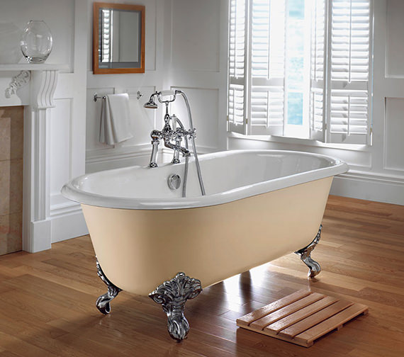 Imperial Bentley Cast Iron 1700mm Bath With Cast Iron Feet - ZCI000003S