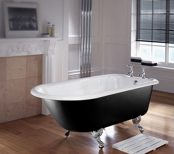 Imperial Waldorf Single Ended Bath With Ball And Claw Feet - ZCI000001S