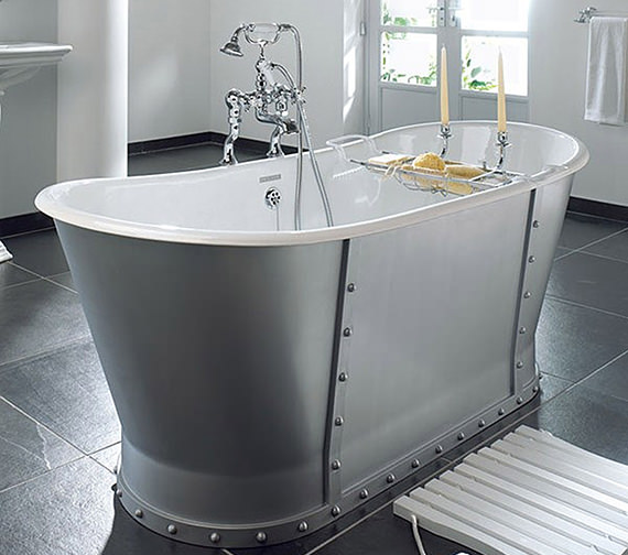 Imperial Baglioni Cast Iron Freestanding Luxury Bath 1700mm - CI000008