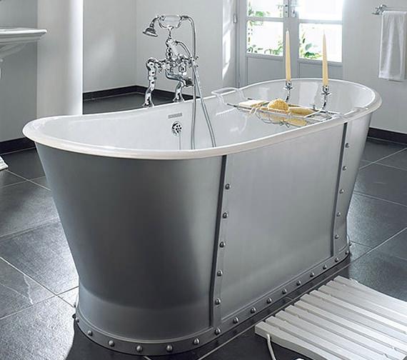 Imperial Baglioni Cast Iron Freestanding Luxury Bath 1700mm - CI000008