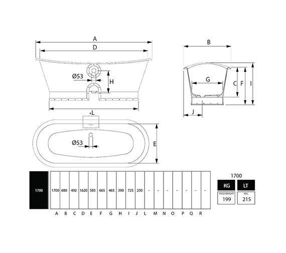 Technical drawing QS-V40718 / CI000008