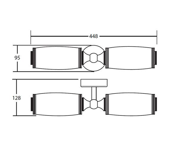 Technical drawing QS-V40737 / XLP1000500